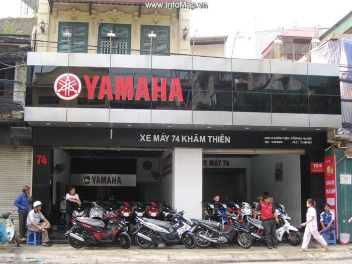 Một đại lý Yamaha 3S