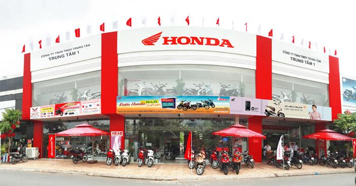 Một trung tâm Head Honda