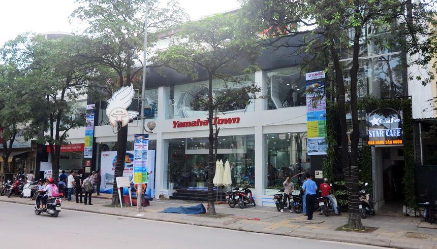 Đại lý xe máy Yamaha Town