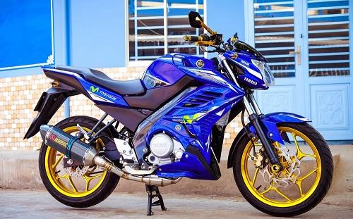 Yamaha FZ150i độ phong cách Movistar