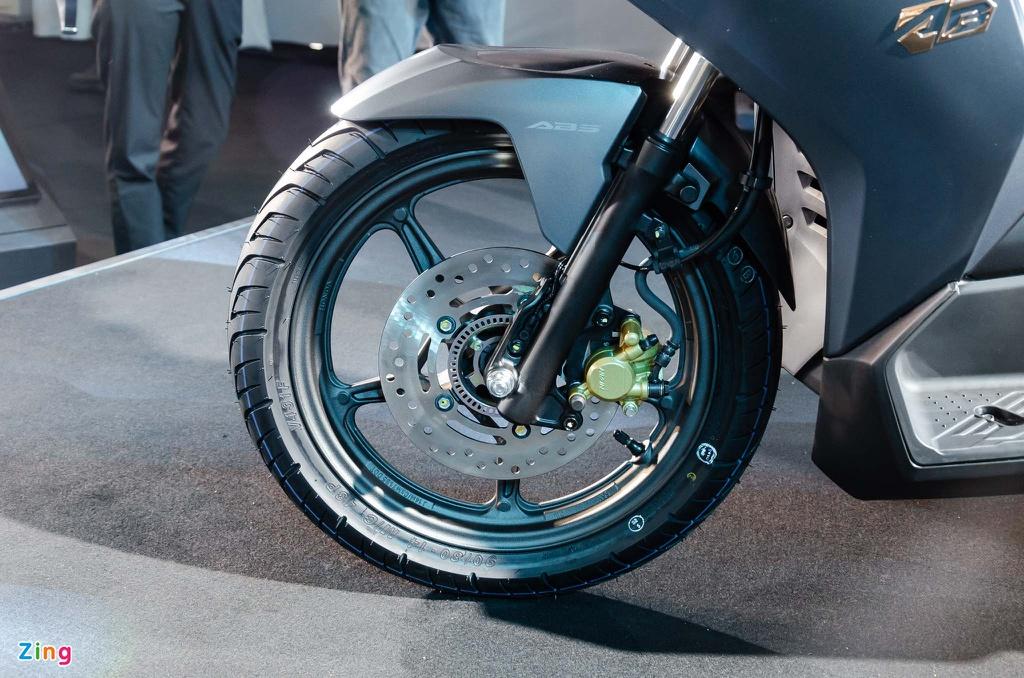 AB 150cc trang bị phanh ABS bánh trước