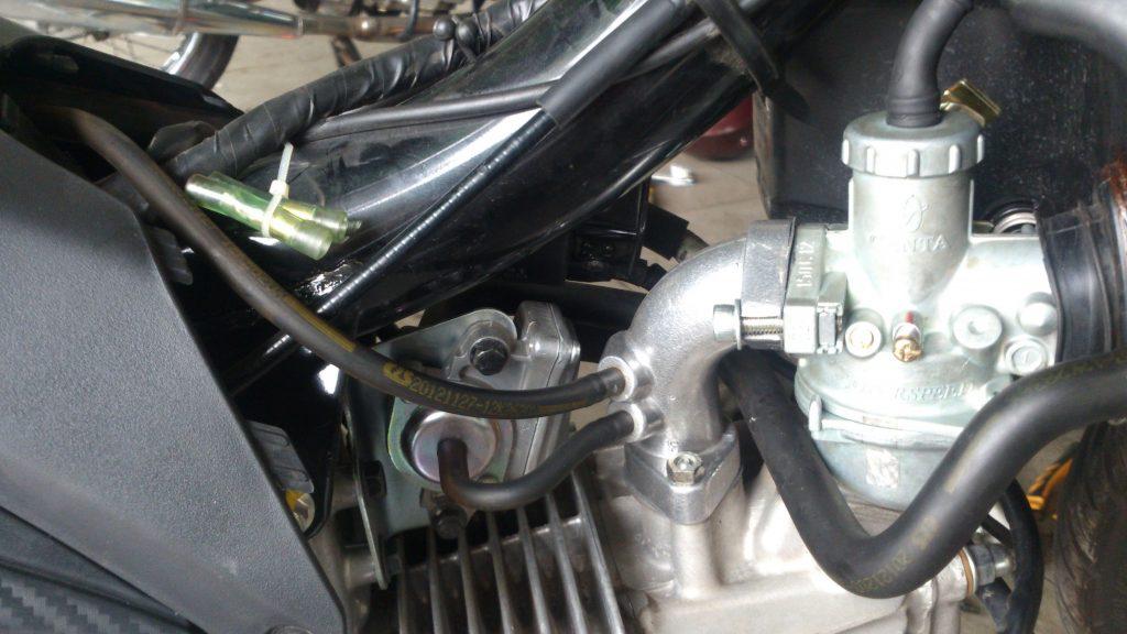 Cách chỉnh xăng gió xe Sirius phiên bản chế hòa chí