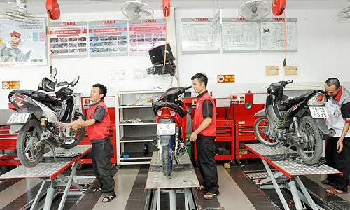Chọn nơi bảo dưỡng xe máy Yamaha uy tín ở Hà Nội và Hồ Chí Minh
