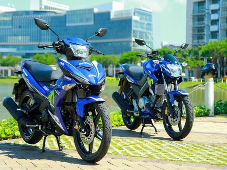 So sánh Exciter 150 và FZ150i về giá bán