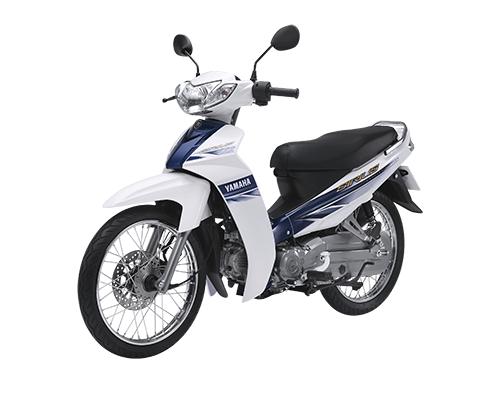Yamaha Sirius 50cc màu trắng xanh