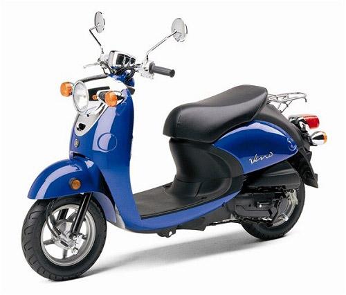 Yamaha Vino 50cc màu xanh cá tính