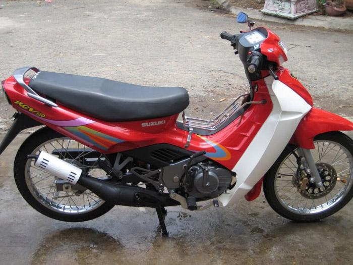 Hình dáng chiếc Xipo RGV 120cc