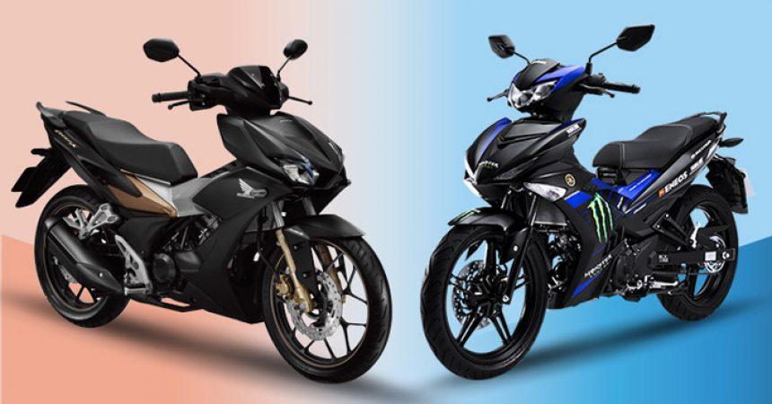 Cả Exciter 150 và Winner 150 đều có những thay đổi về thiết kế