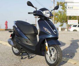 Mức tiêu hao nhiên liệu của Piaggio Fly