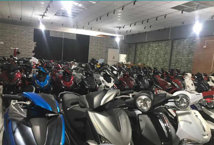 Những cửa hàng bán xe máy cũ trả góp Hà Nội uy tín