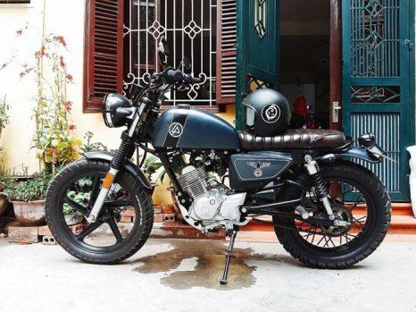 Yamaha YB125SP độ Cafe Racer chỉ 7 món