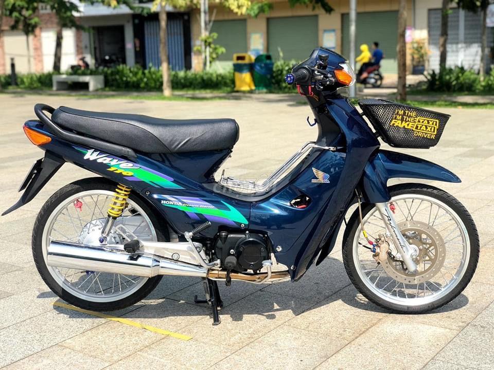Lý do xe  Wave Thái 110 vẫn được ưa chuộng