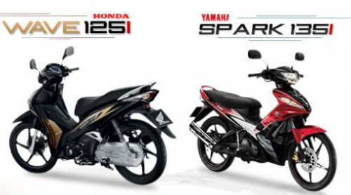 So sánh Honda Wave và Yamaha Spark